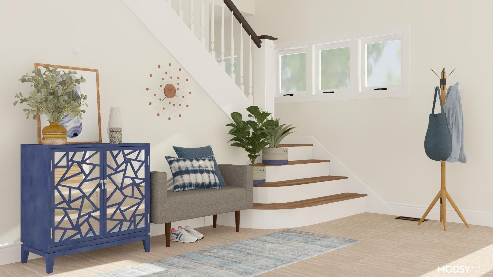 Welcoming And Functional Entryway