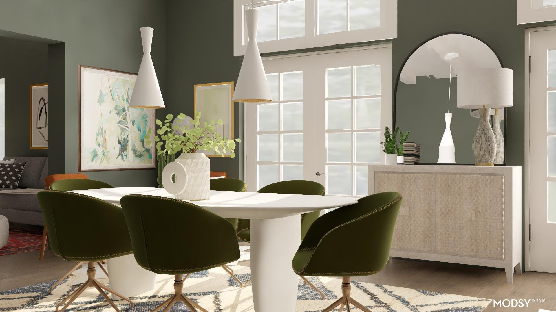 A Modern Dining Table That Makes A Statement