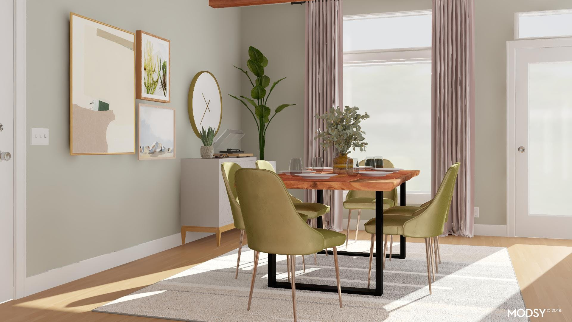 Creating A Bold And Modern Dining Room