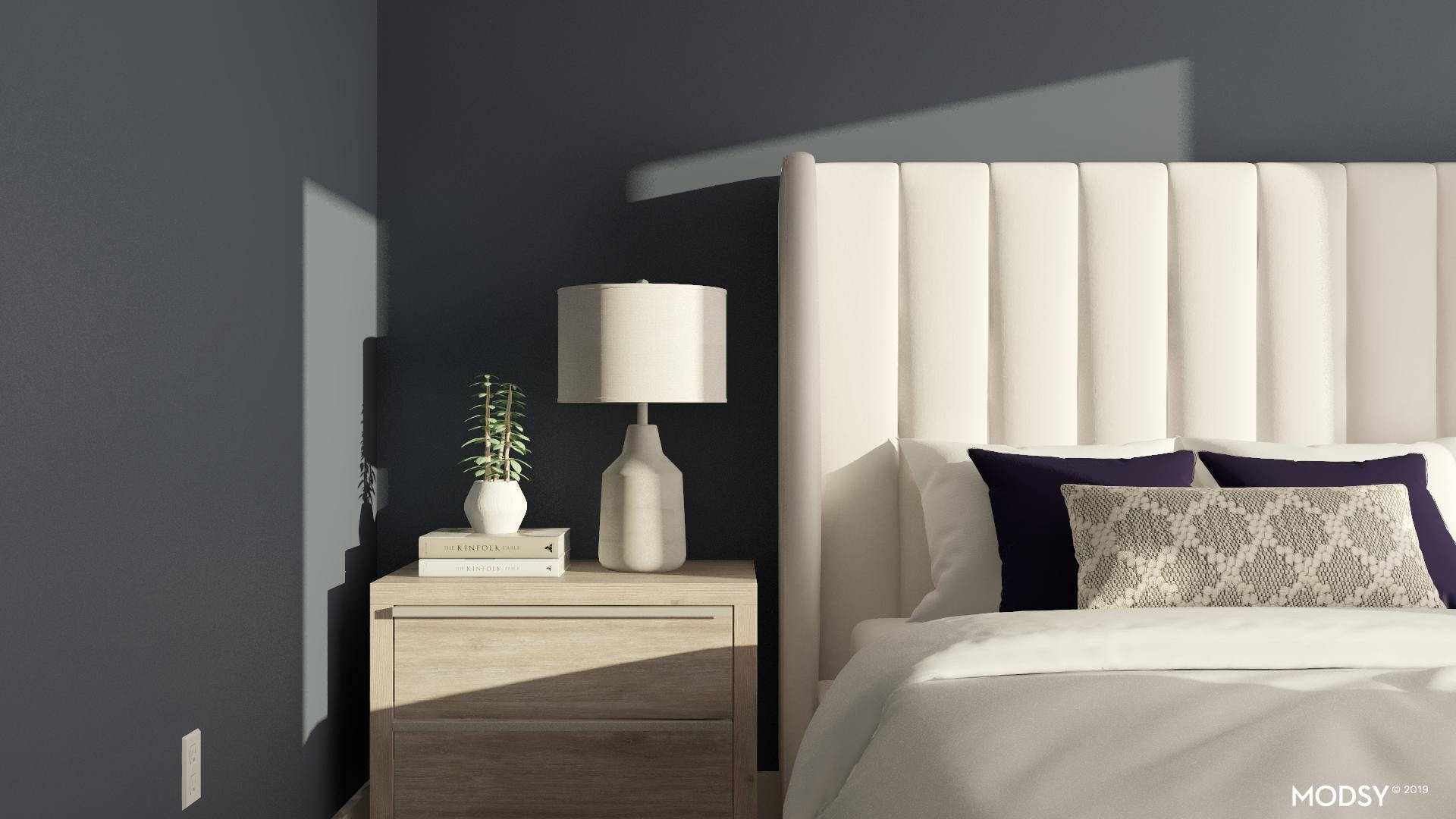 Clean and Serene Bedroom