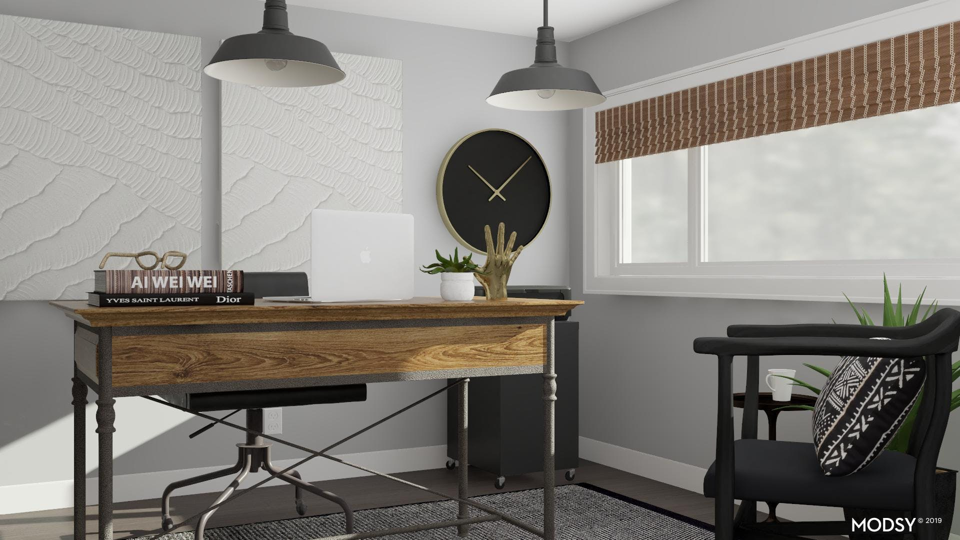 Creative Lighting Option For Industrial Office Space