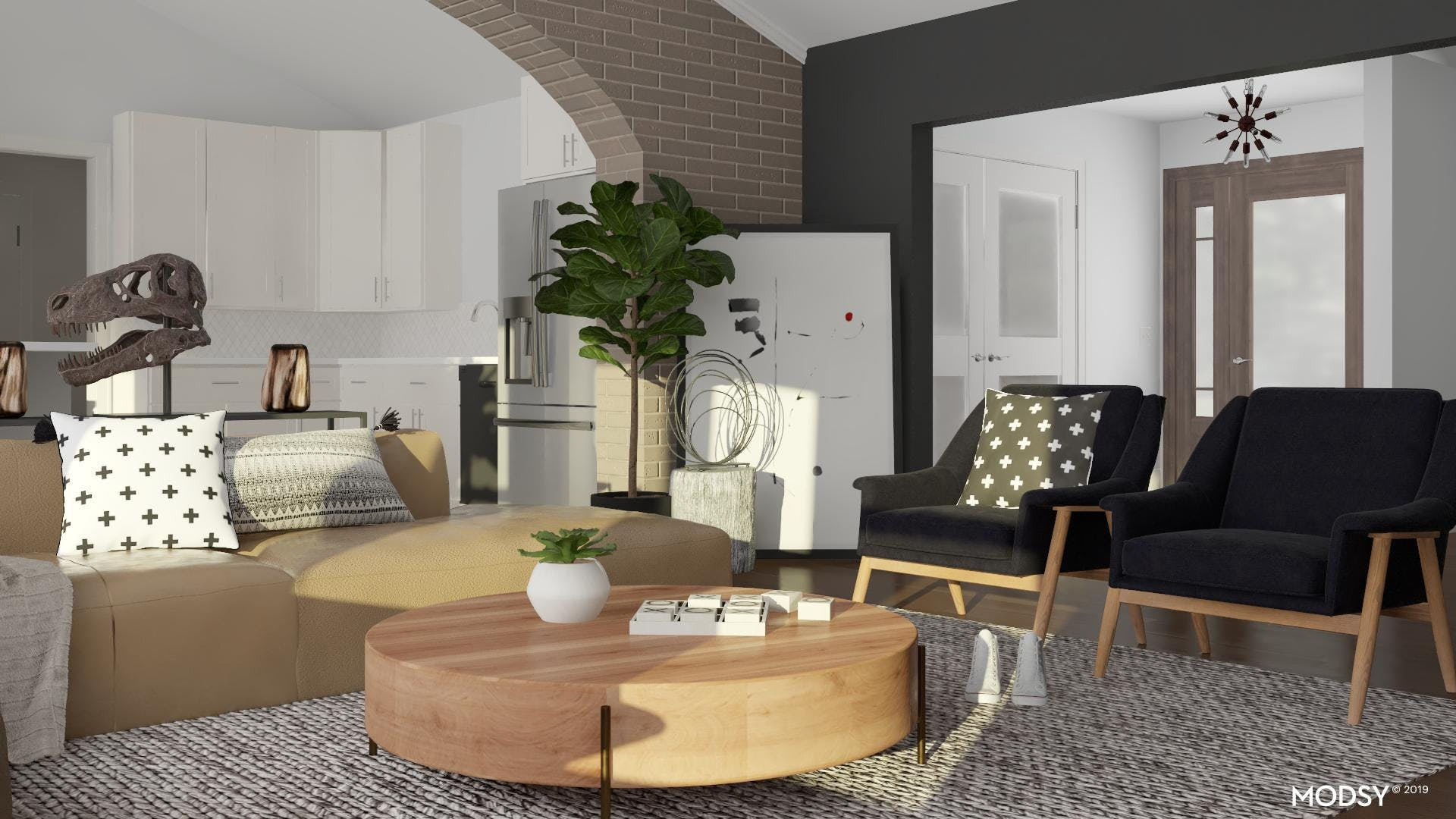 Casual Confident Living Room