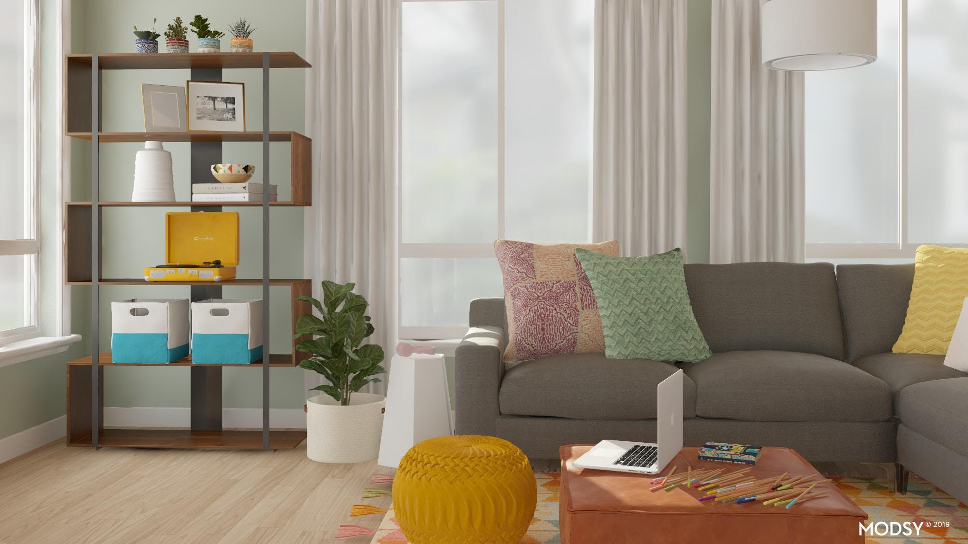 Multi-Purpose Pieces For Family Living