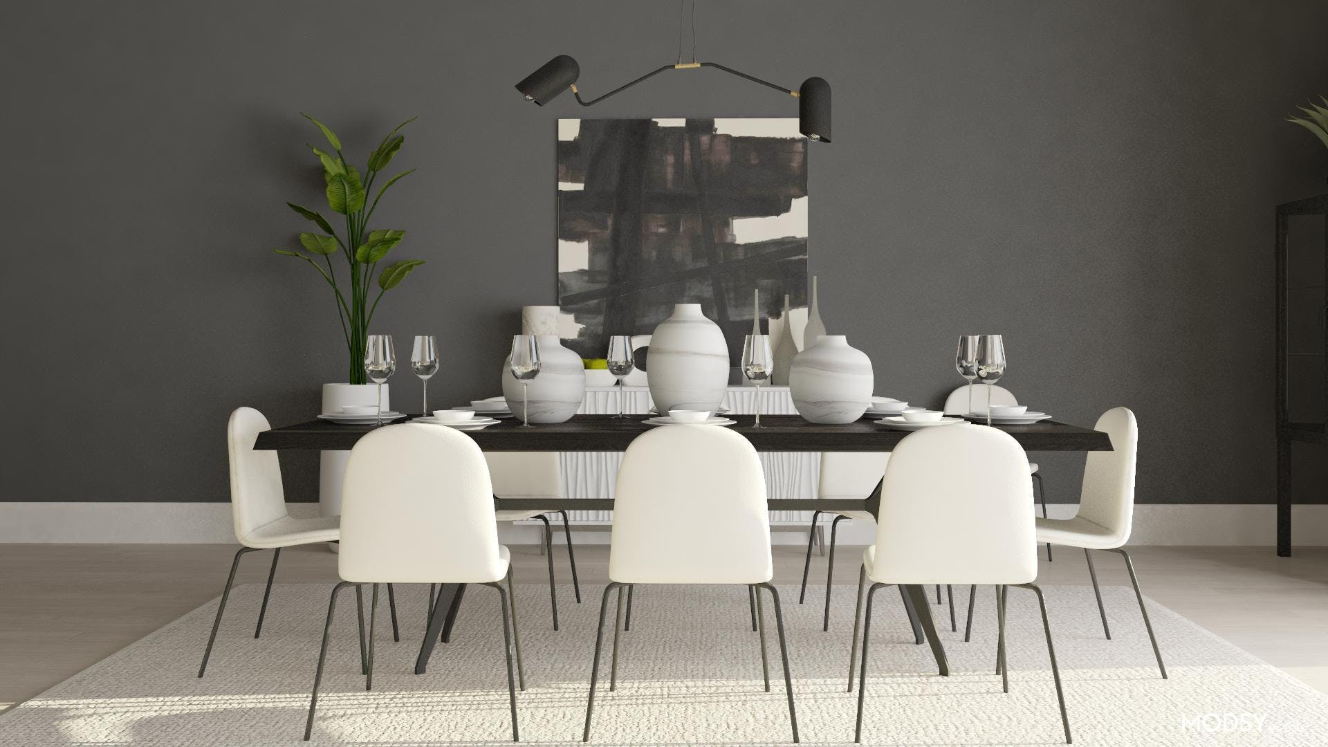 Less is More in a Minimalist Dining Room