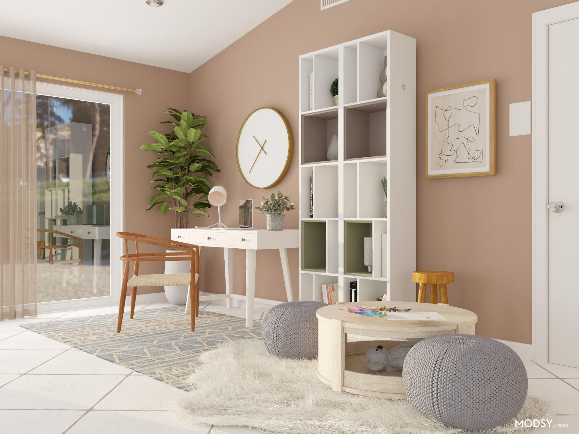 Sweet Office and Play-Area