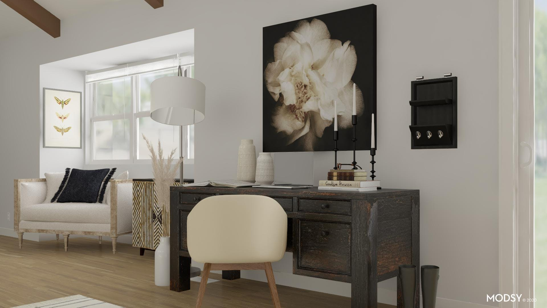 Black And White Eclectic