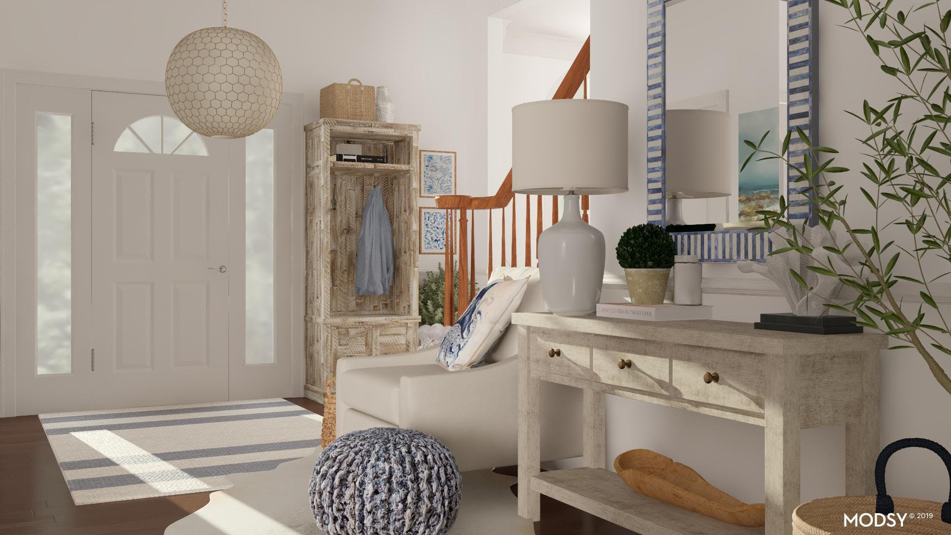 Wooden Accents in Coastal Design