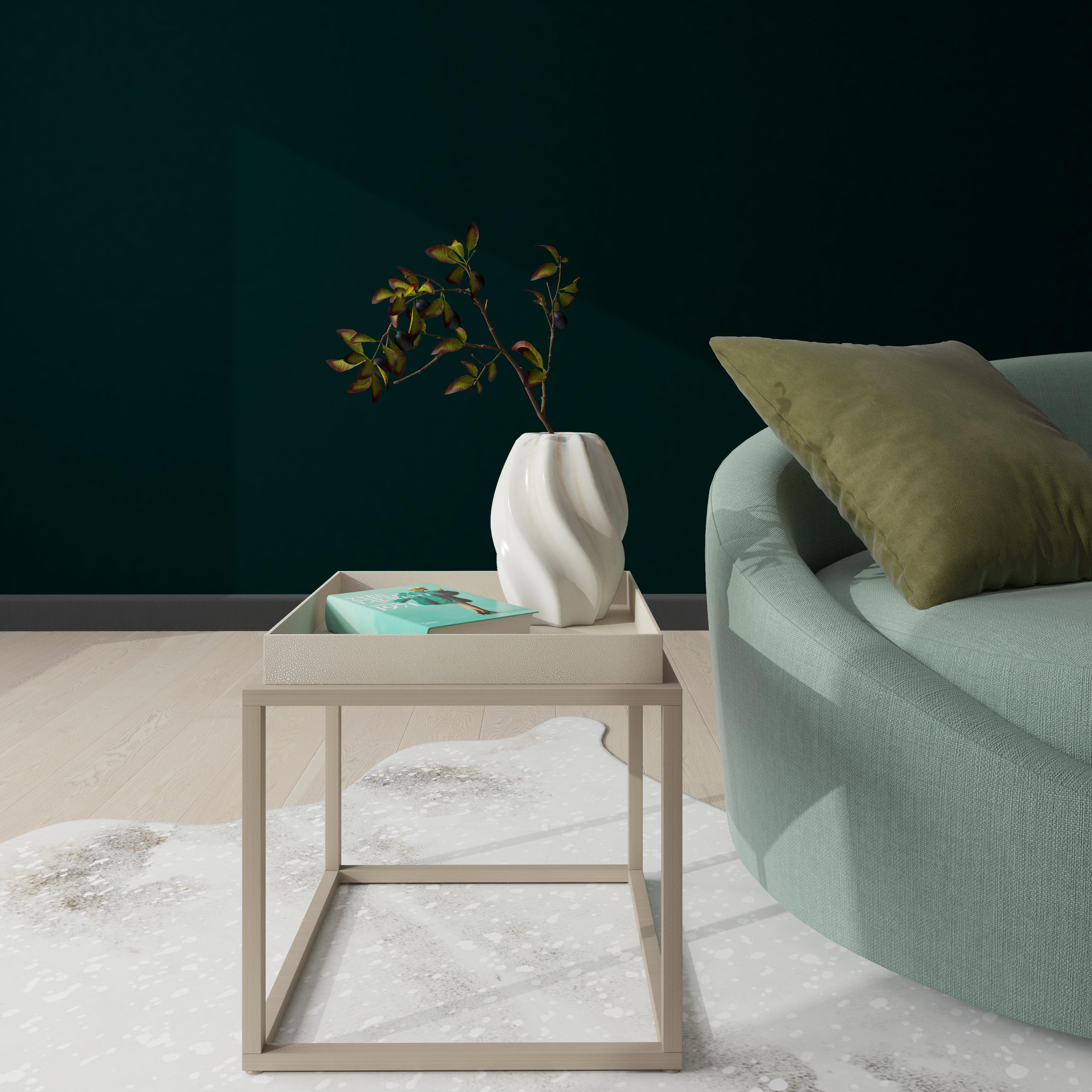 Understated Glam Side Table