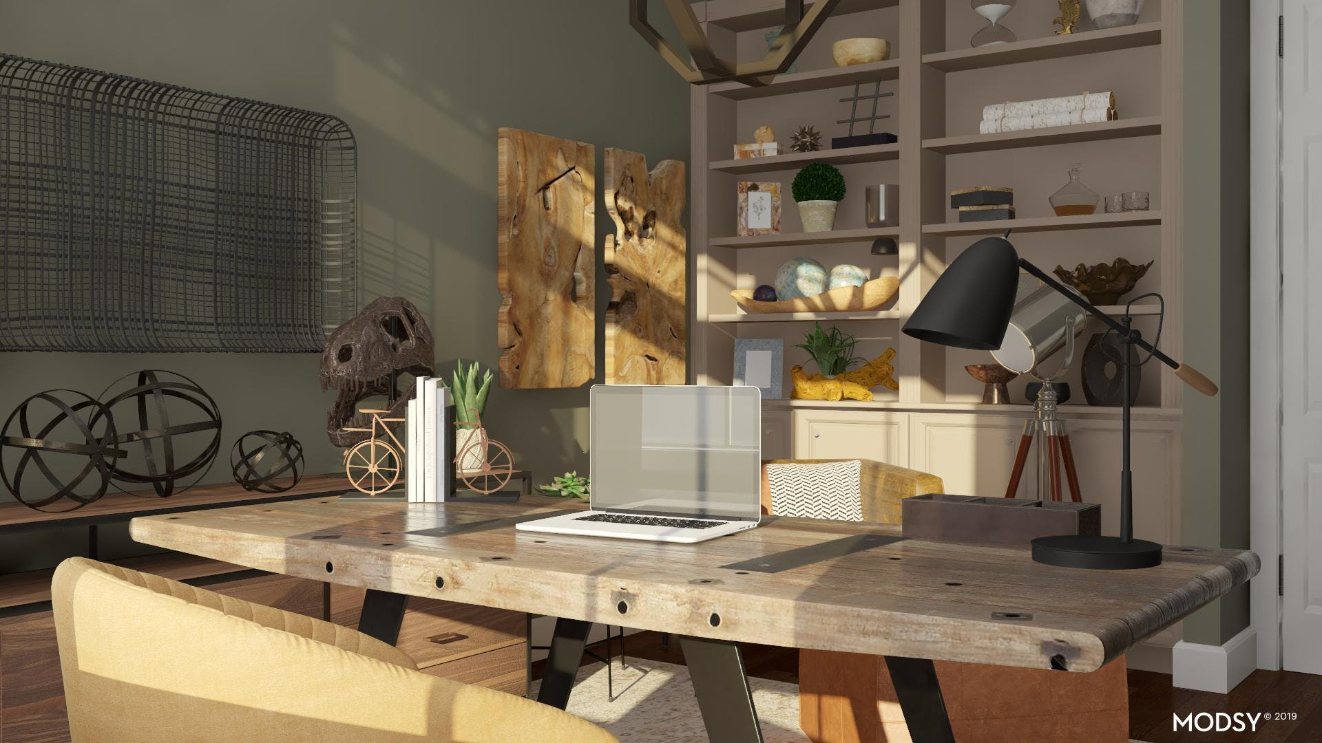 Timeless Industrial Office
