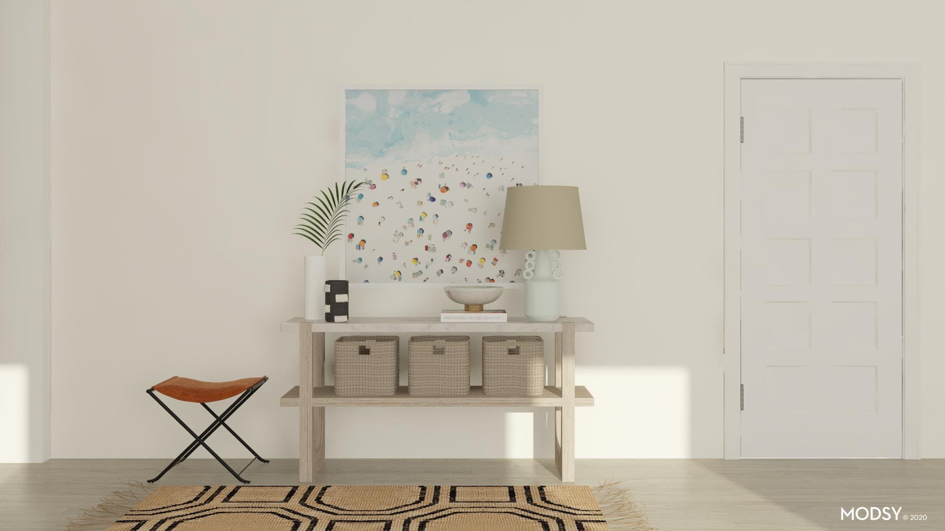 Spring Entryway: Minimal And Modern