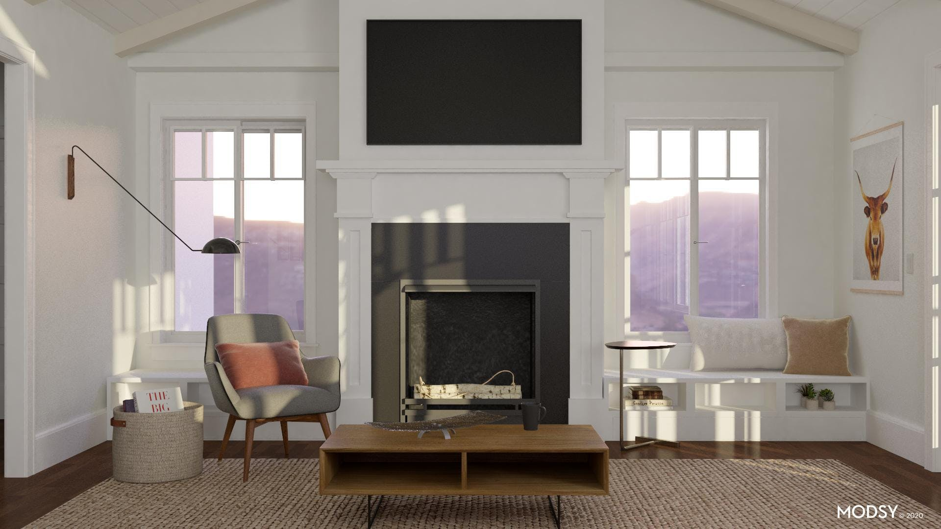 Mid-century Modern with A Minimal Flare