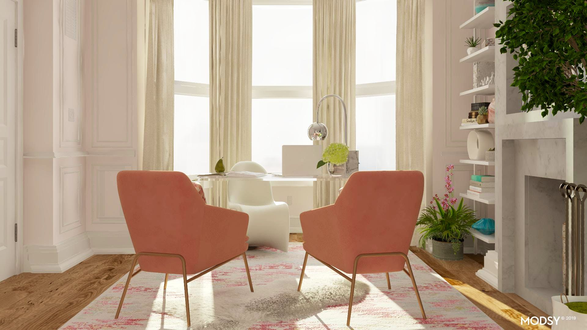 Pretty In Pink: Pastel Office