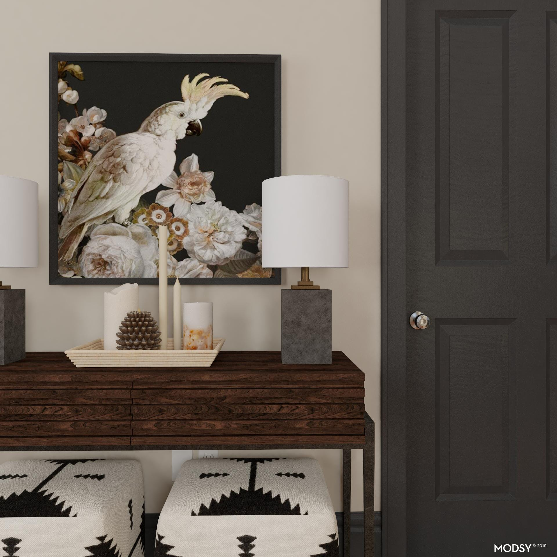 Simple Eclectic Styling