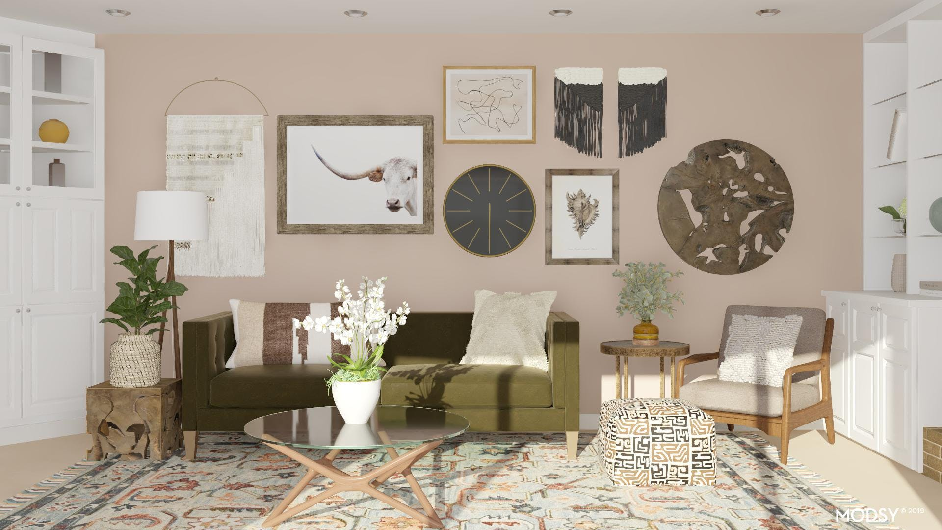 Cozy Eclectic Lounge