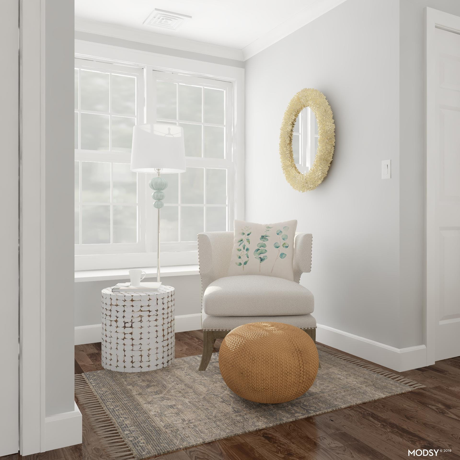 A Cozy Nook With Beachy Accents