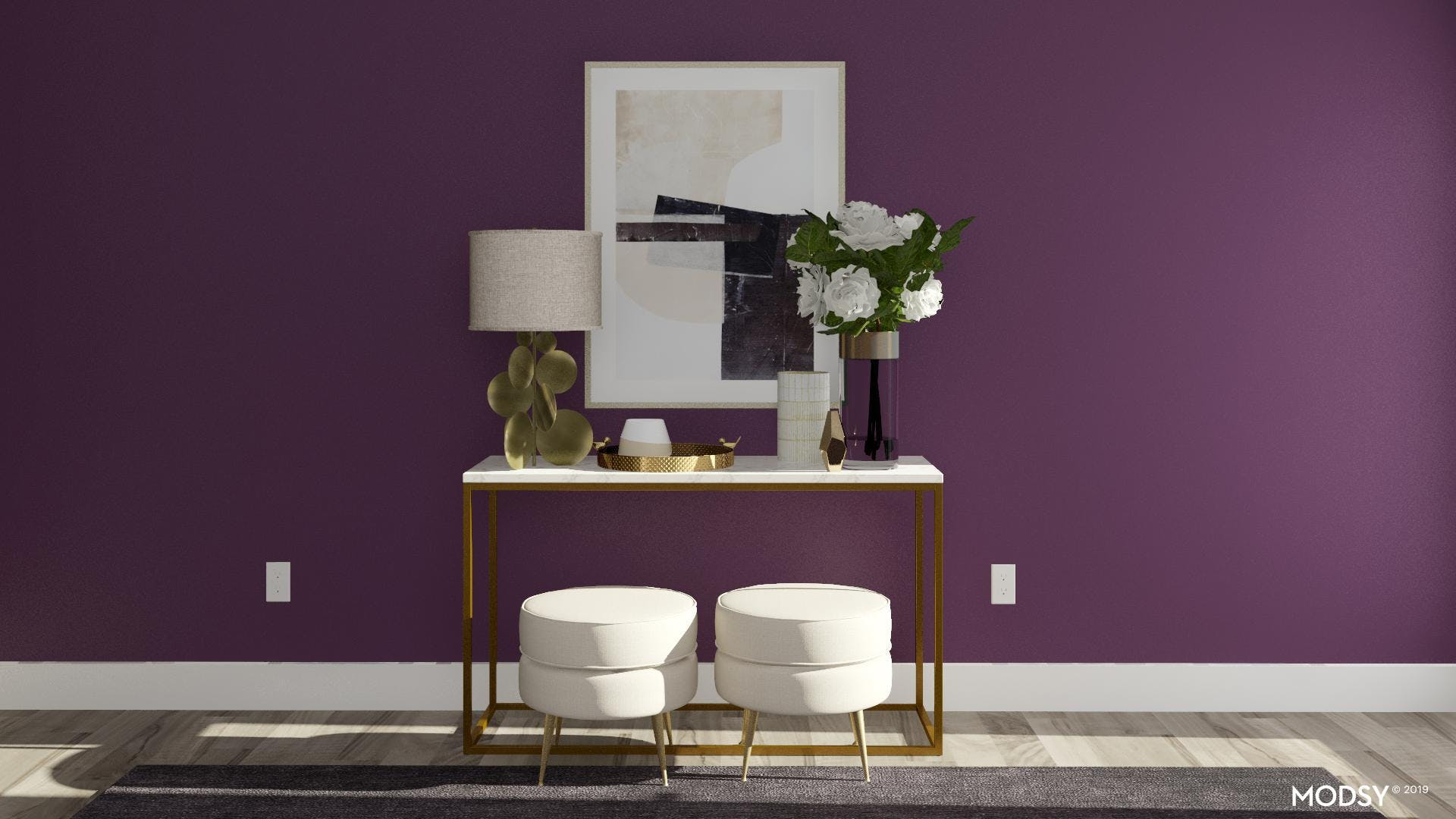 Multifunctional Console Table Styling