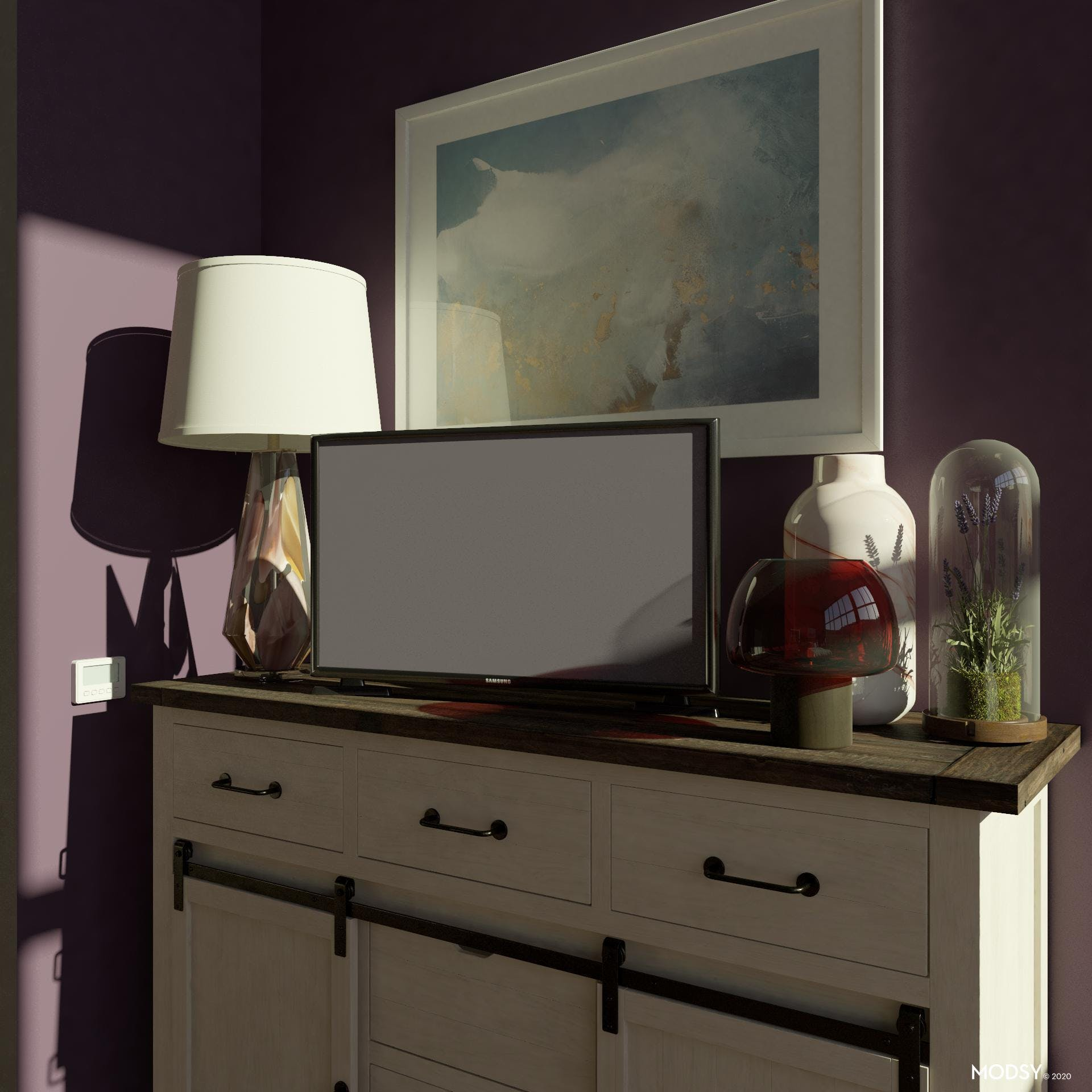 Charming Sideboard For Storage