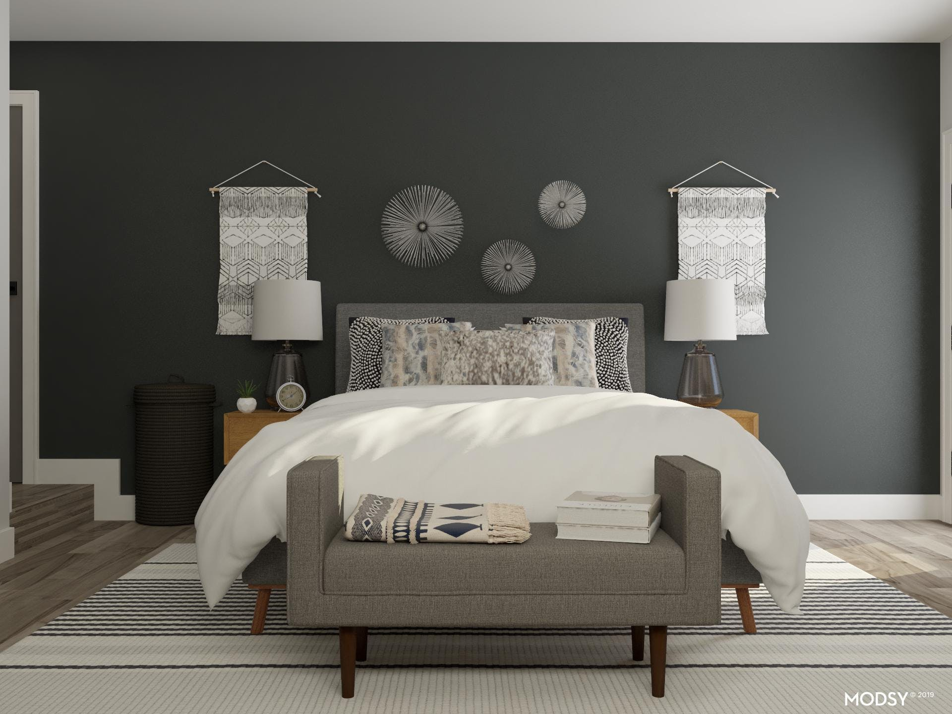 Mid-Century And Neutral Go Together