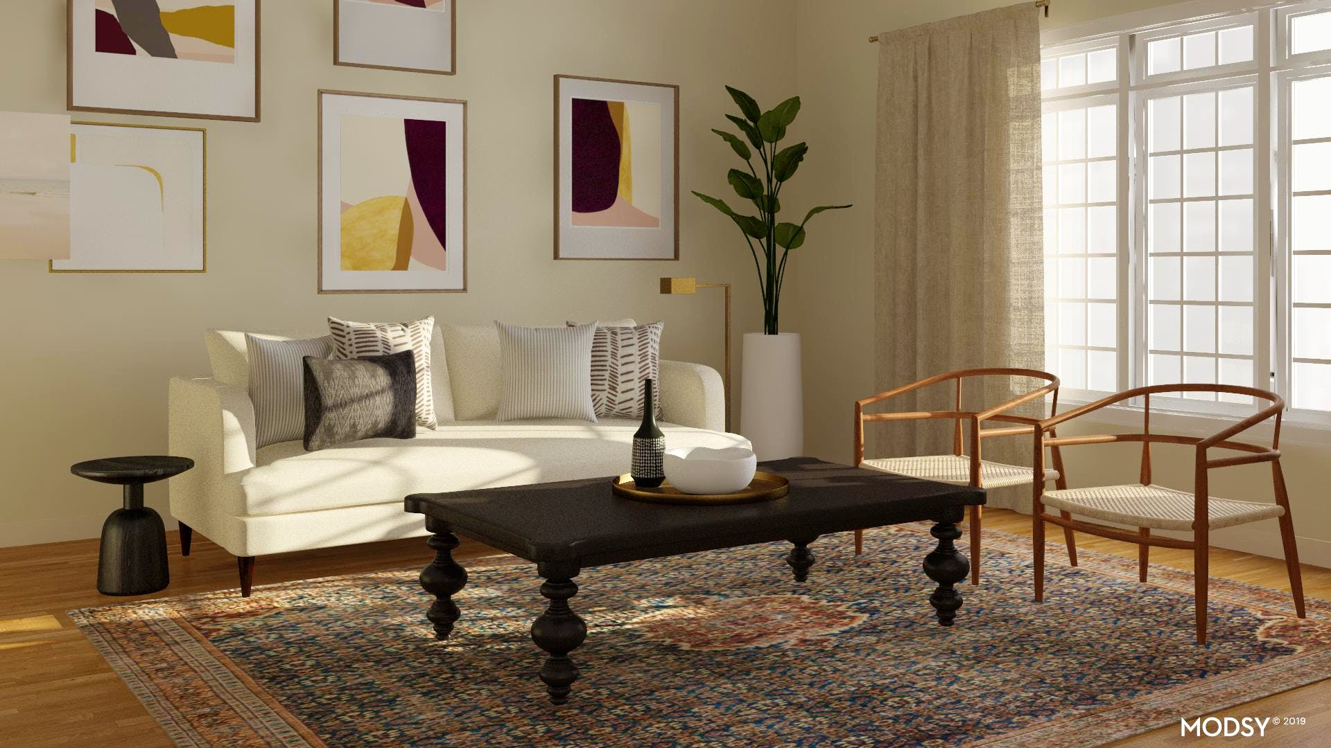 Mixing Modern And Traditional Elements