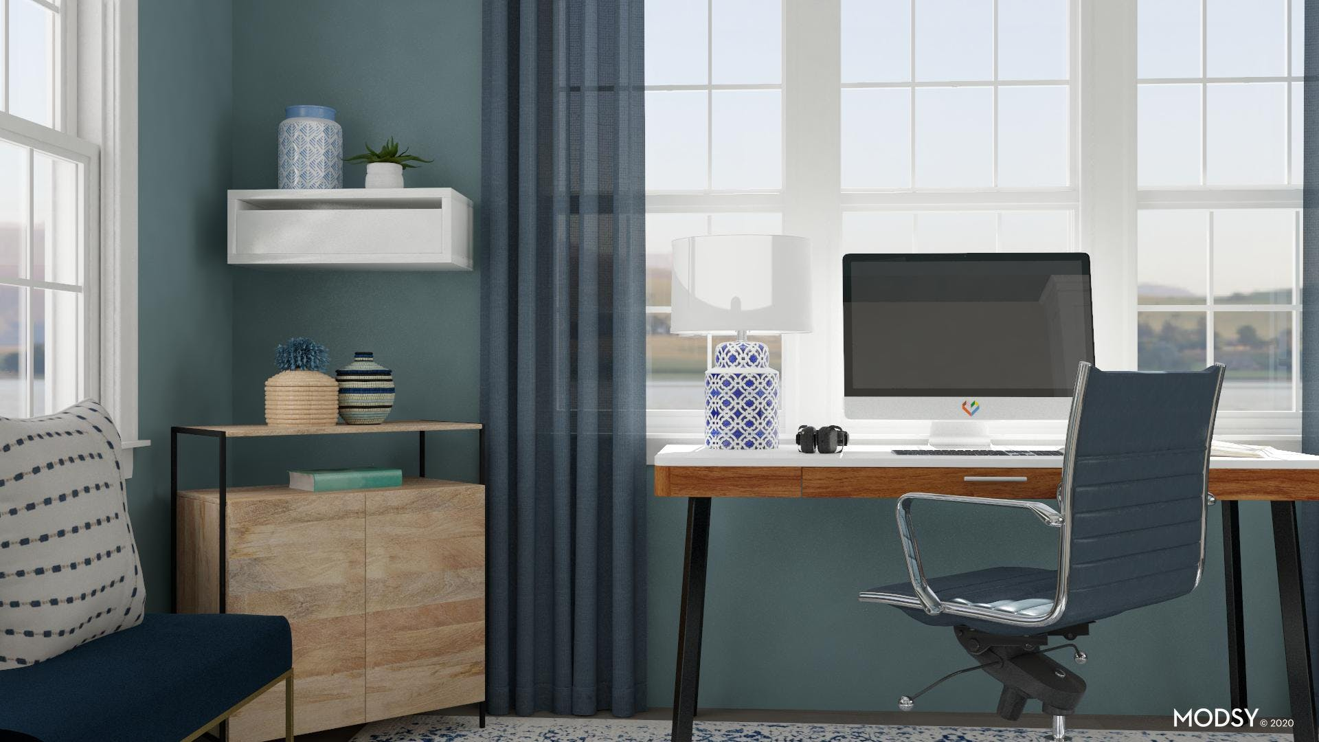 Sing The Blues: Modern Office