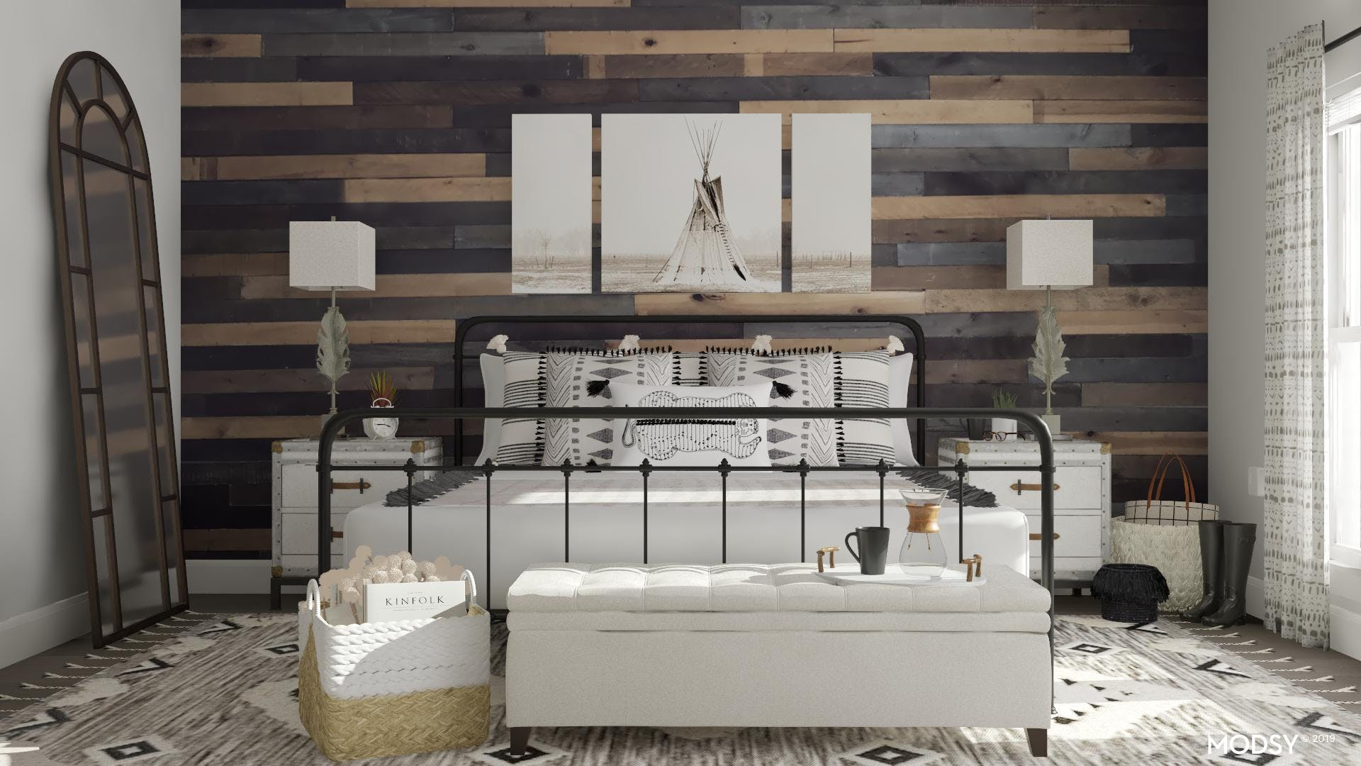Rustic Textures In Modern Patterns