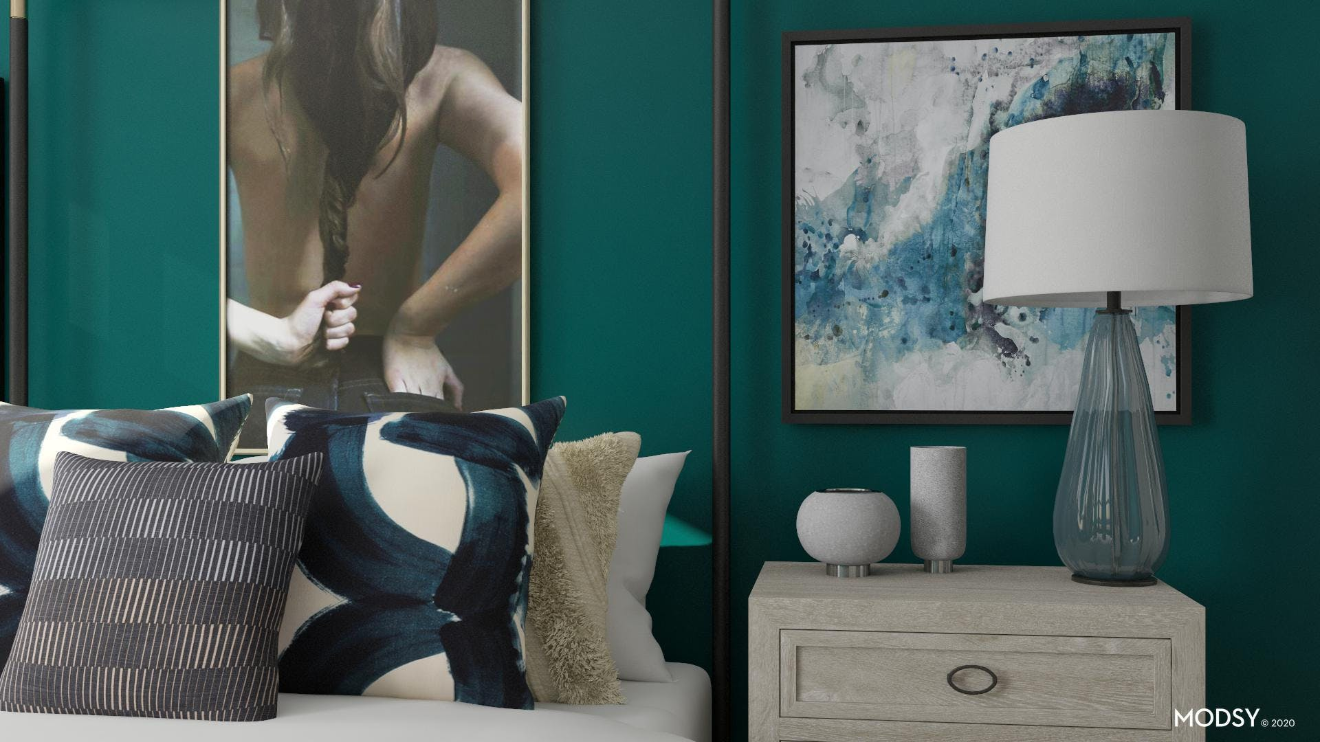 Tone And Color: Industrial Bedroom