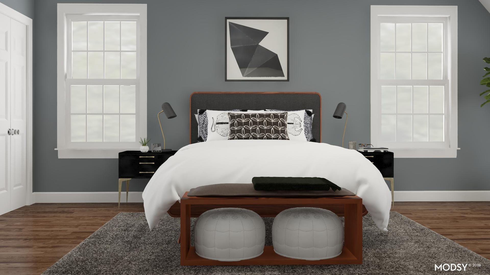 Modern Black And White Bedroom Modern Style Bedroom Design Ideas