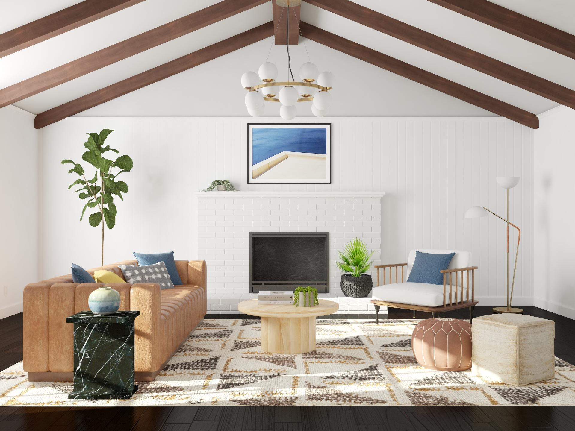 Beaming At This Mid-Century Room