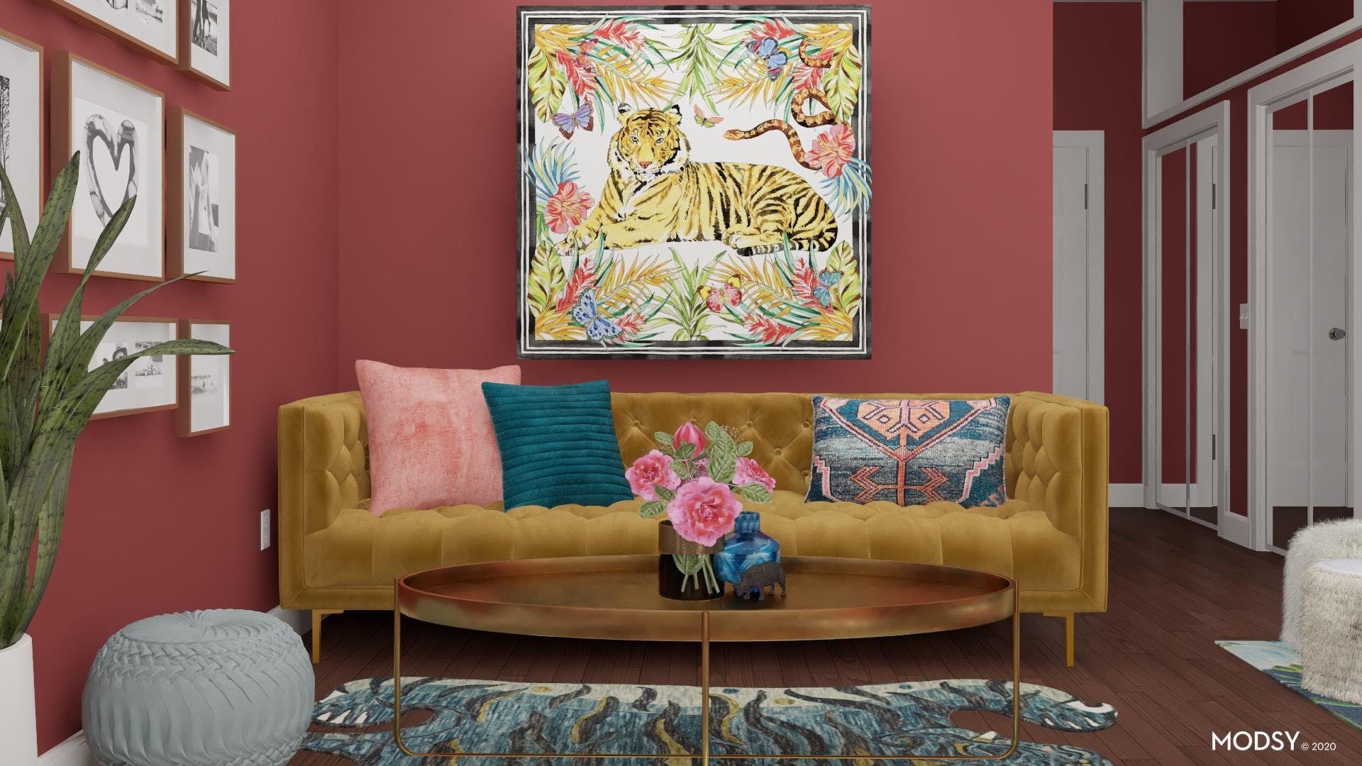 Luxury in Living Color