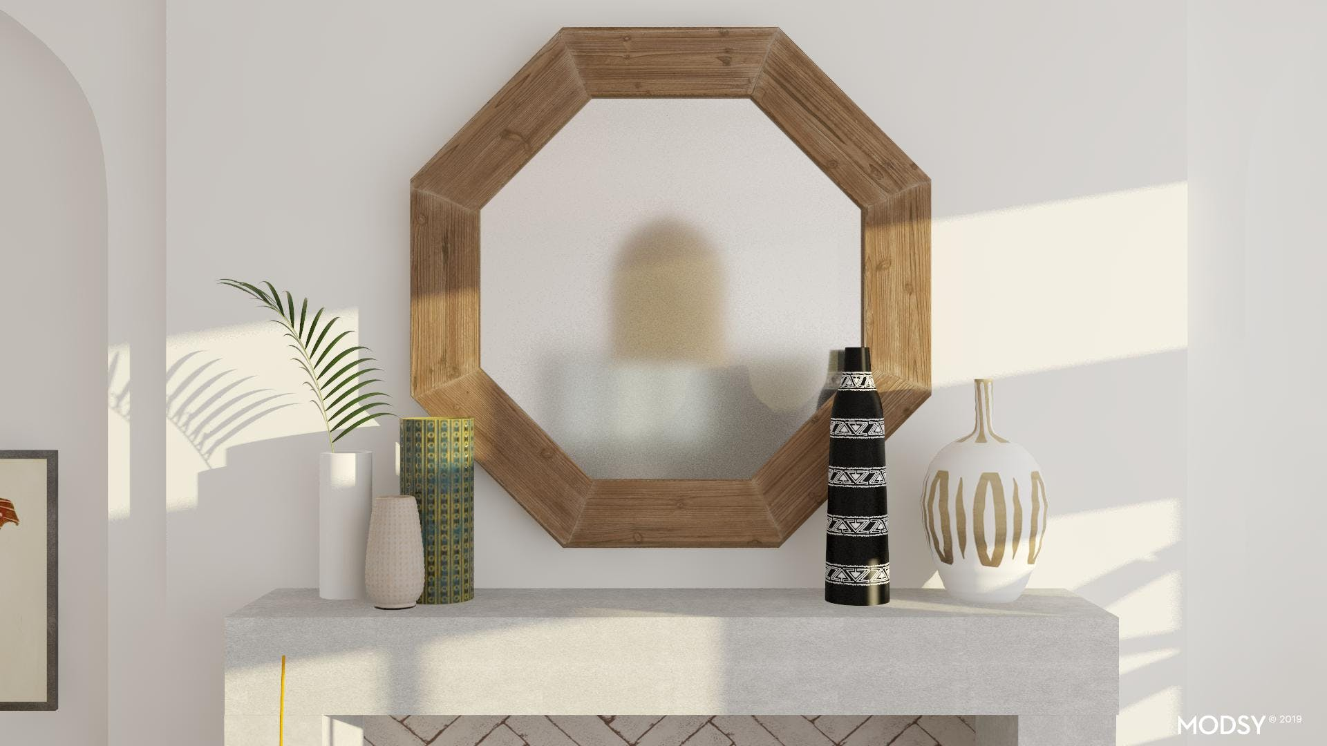 Everyday Eclectic Mantle Styling