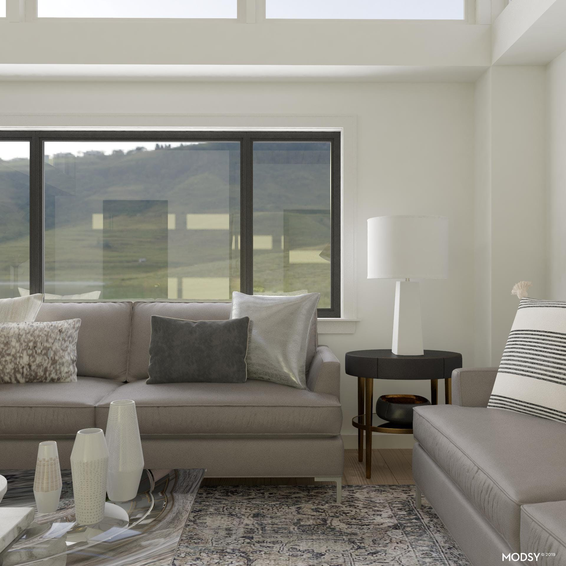 A Gray Accent Wall