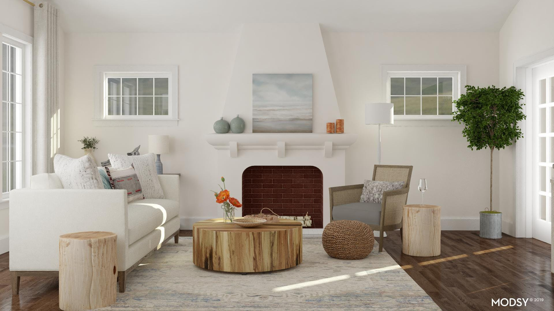 It's All In The Details For This Coastal LIving Room