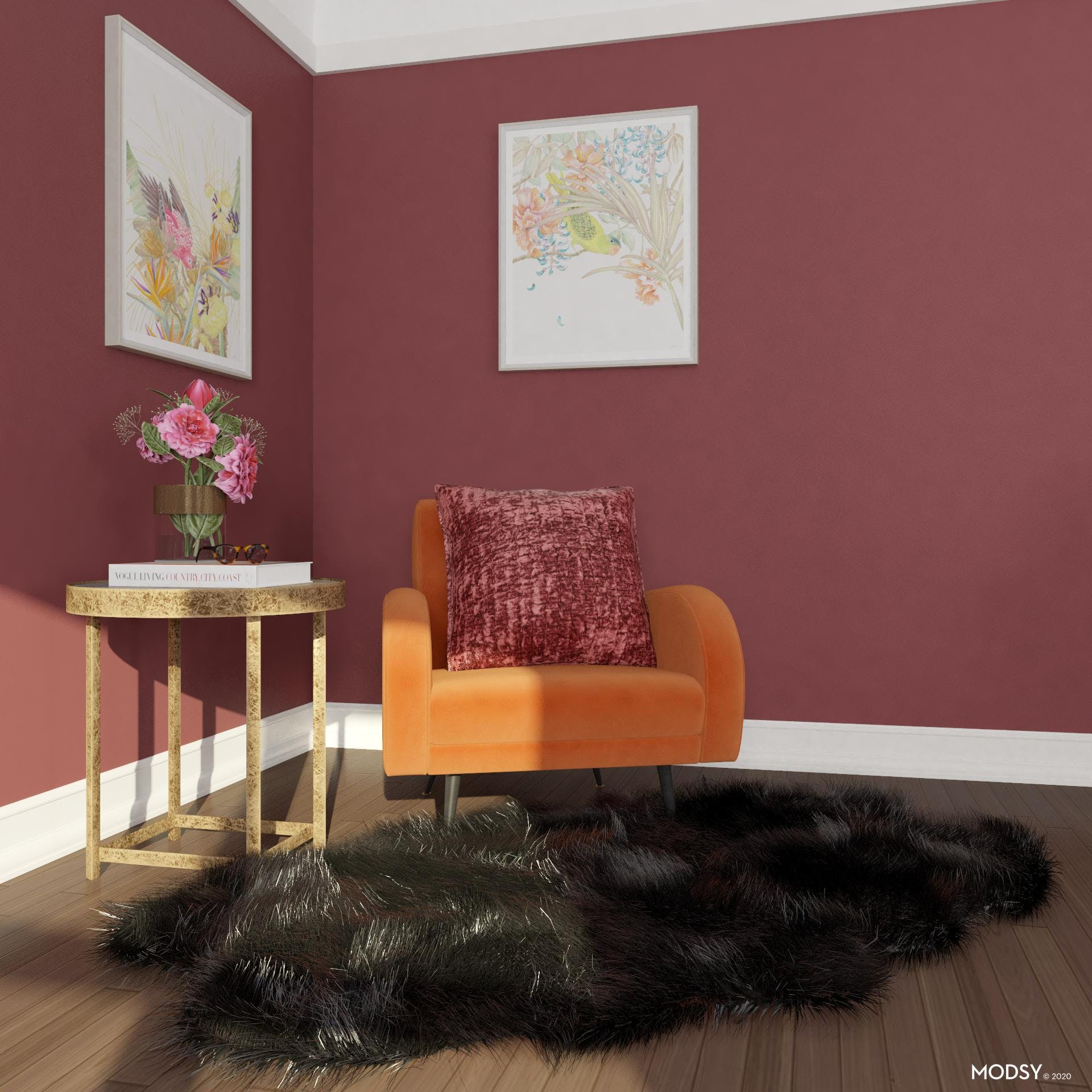 Eclectic Fiery Vibrance
