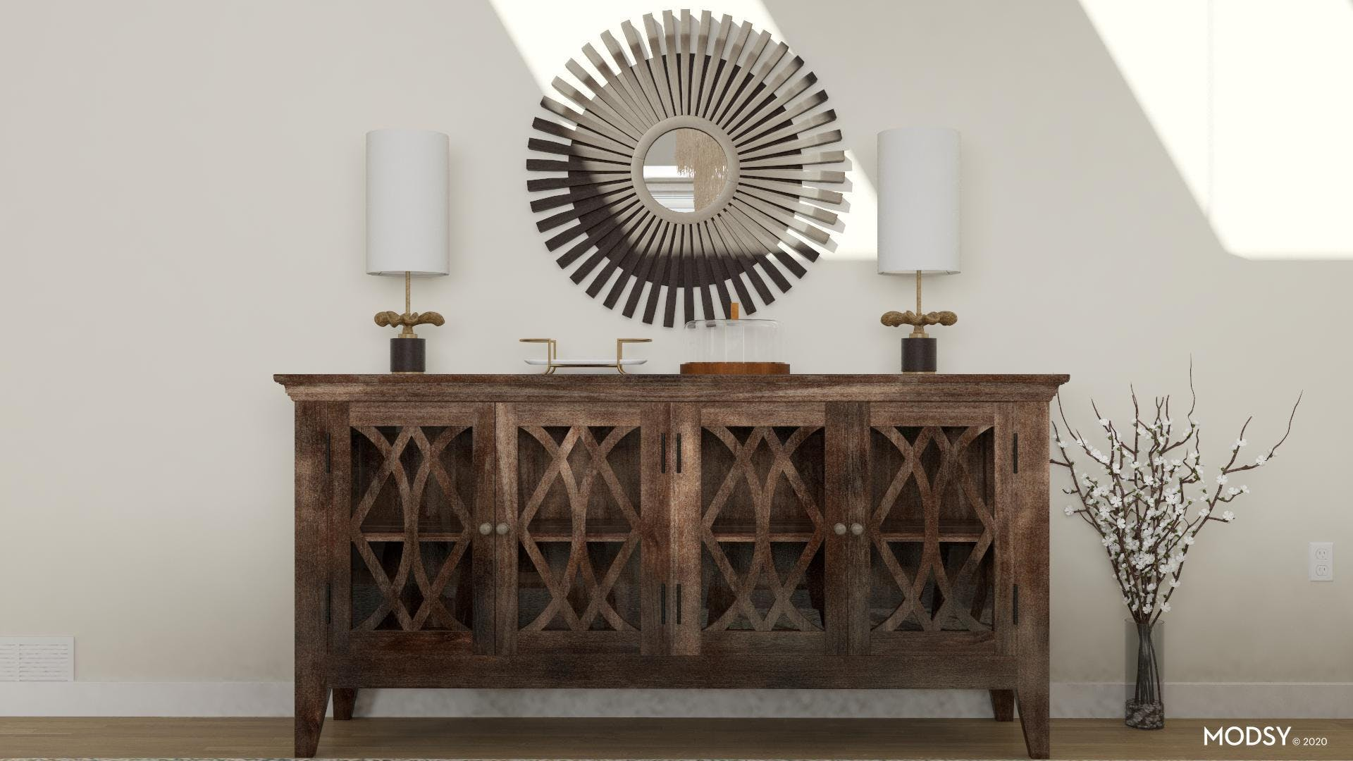Farmhouse Buffet: Old And New