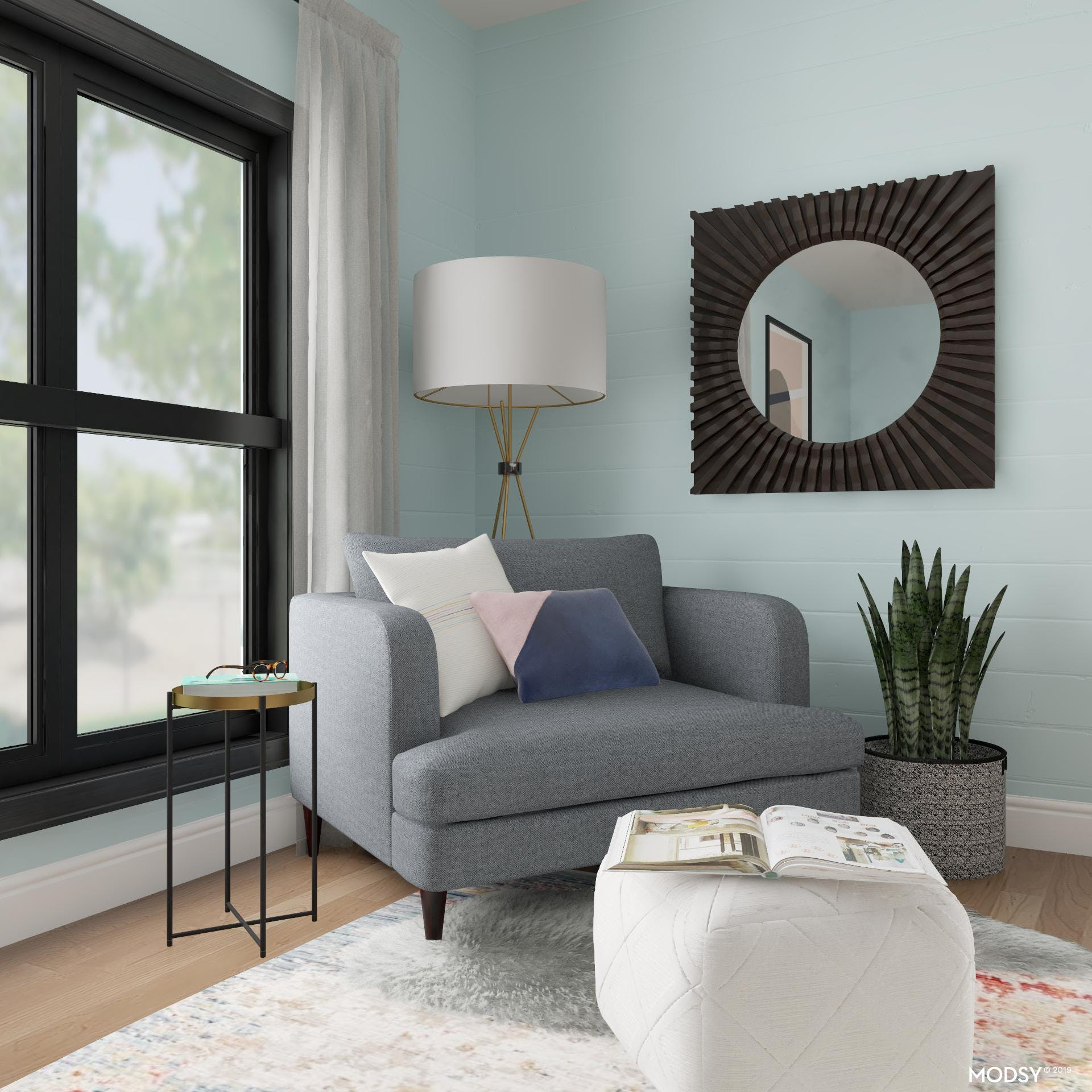 A Reading Nook for the Urban Dreamer