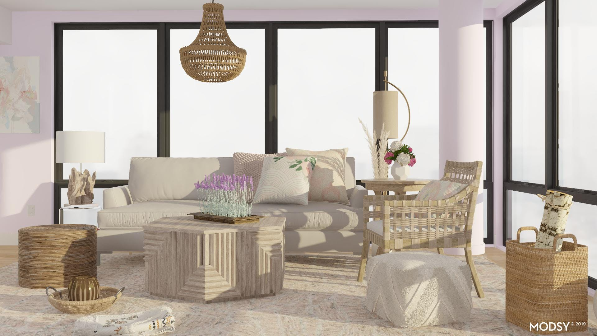 Beautiful Pieces for an Eclectic Living Room