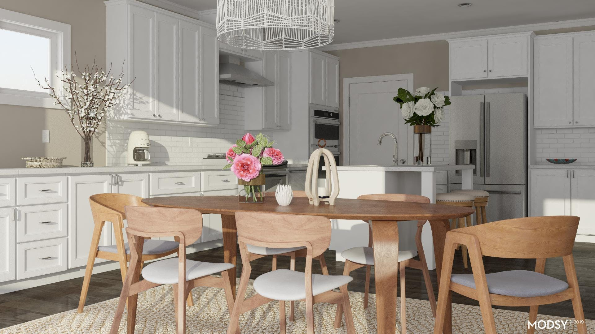 Breakfast Nook To Dining Table