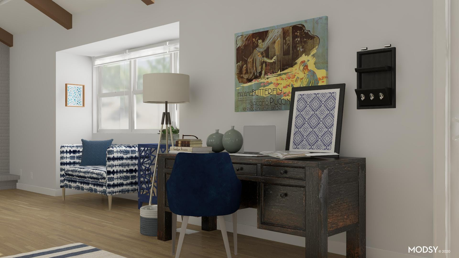 All In The Details: Eclectic Office