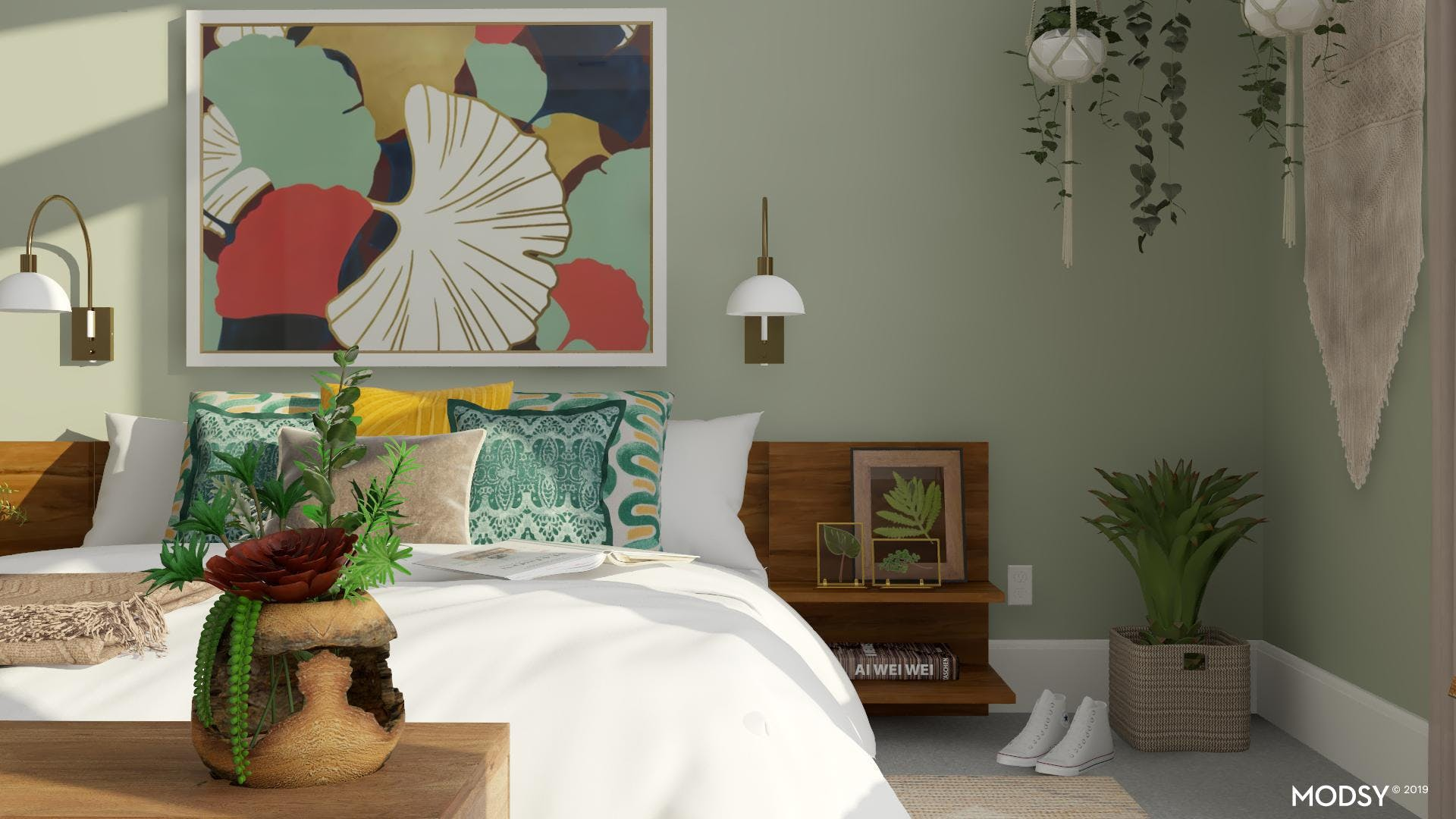 Fun Loving And Playful Bedroom