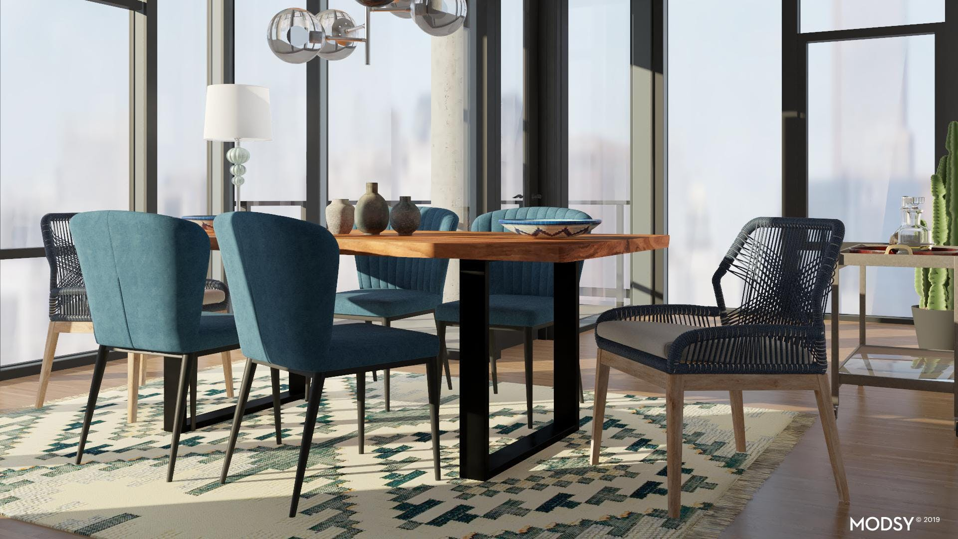 Eclectic Chair Mix