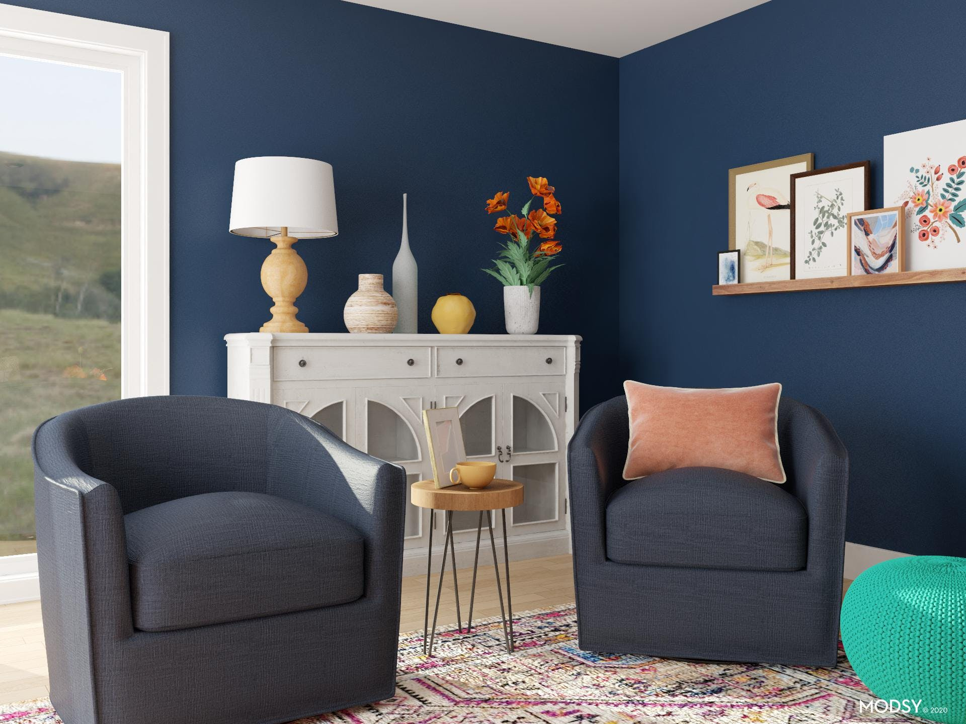 The Perfect View: Conversational Seating