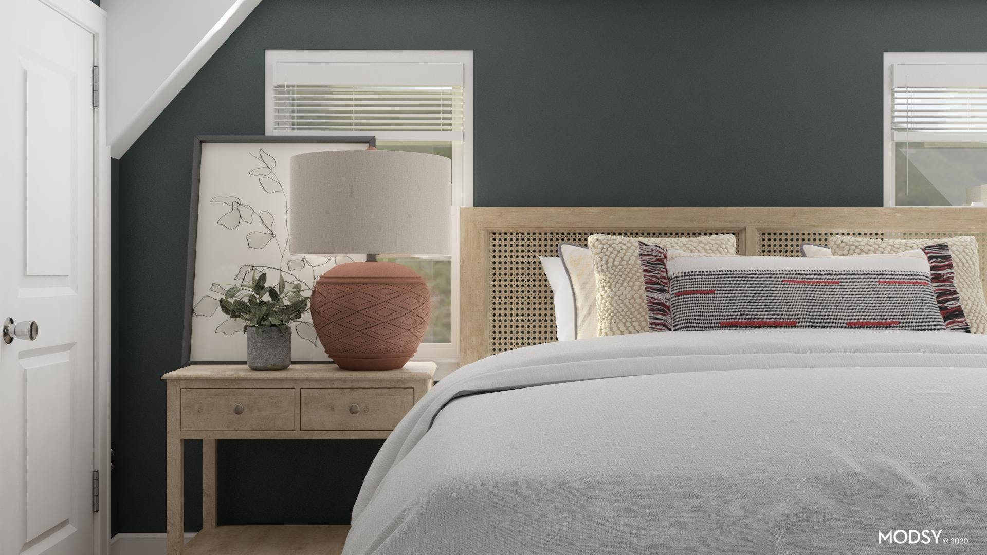 Earthy Master Suite