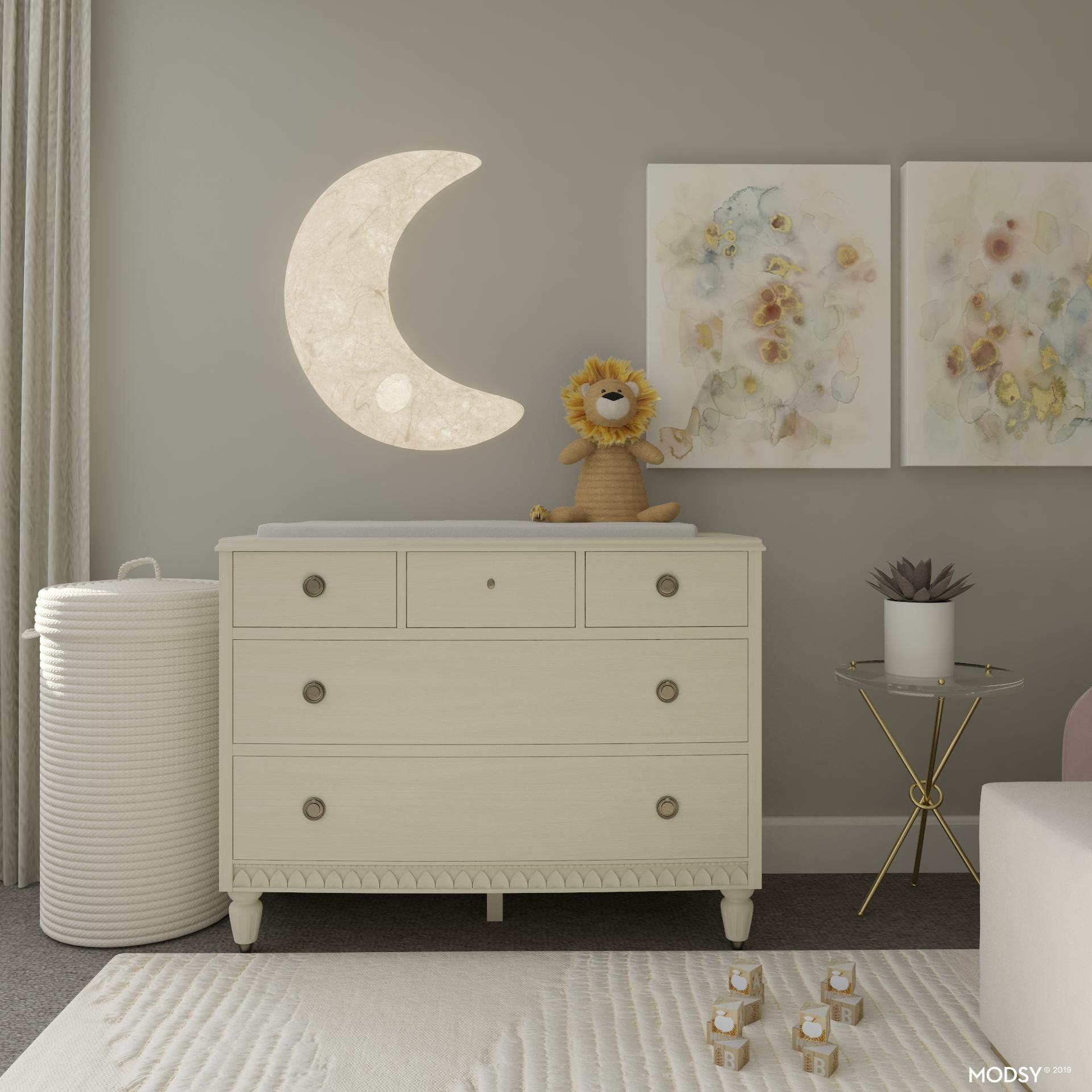 Soft Textures In The Nursery