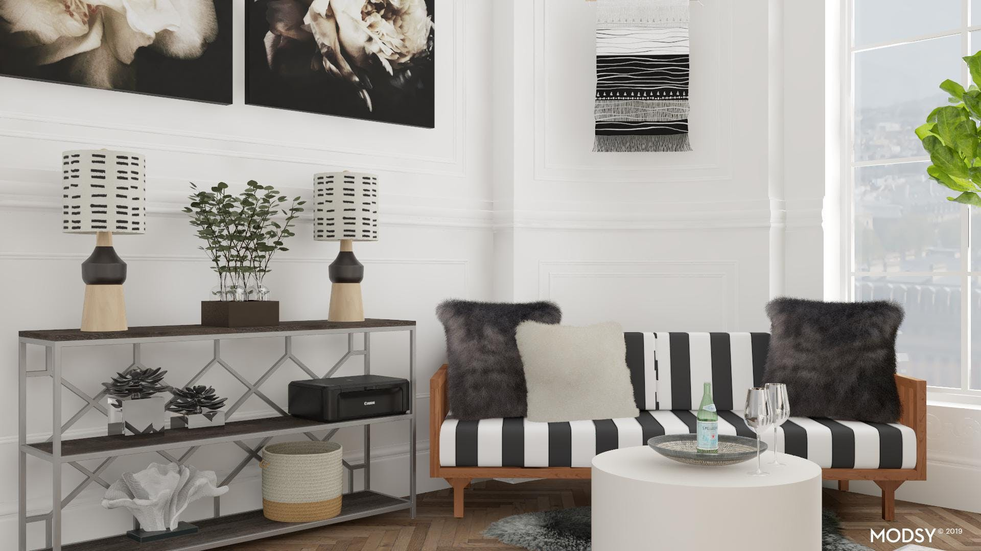 Black And White Office For The Win