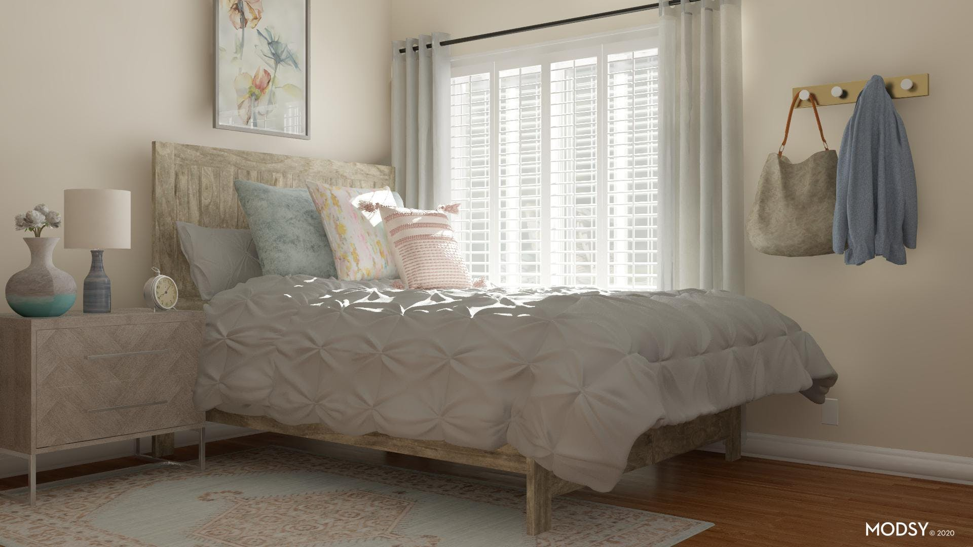 Soft And Rustic: Layered Textiles
