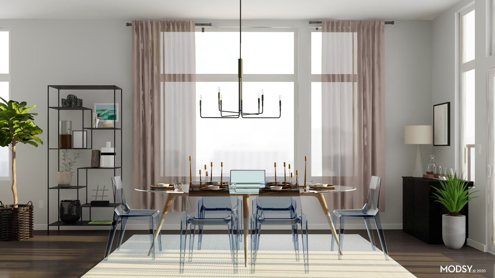 Modern, Minimal, And Ready to Dine