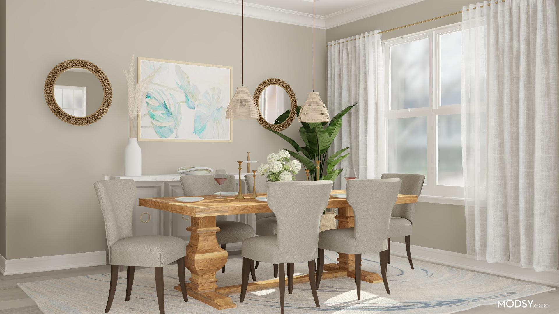 Timeless Breeze: Dining Room