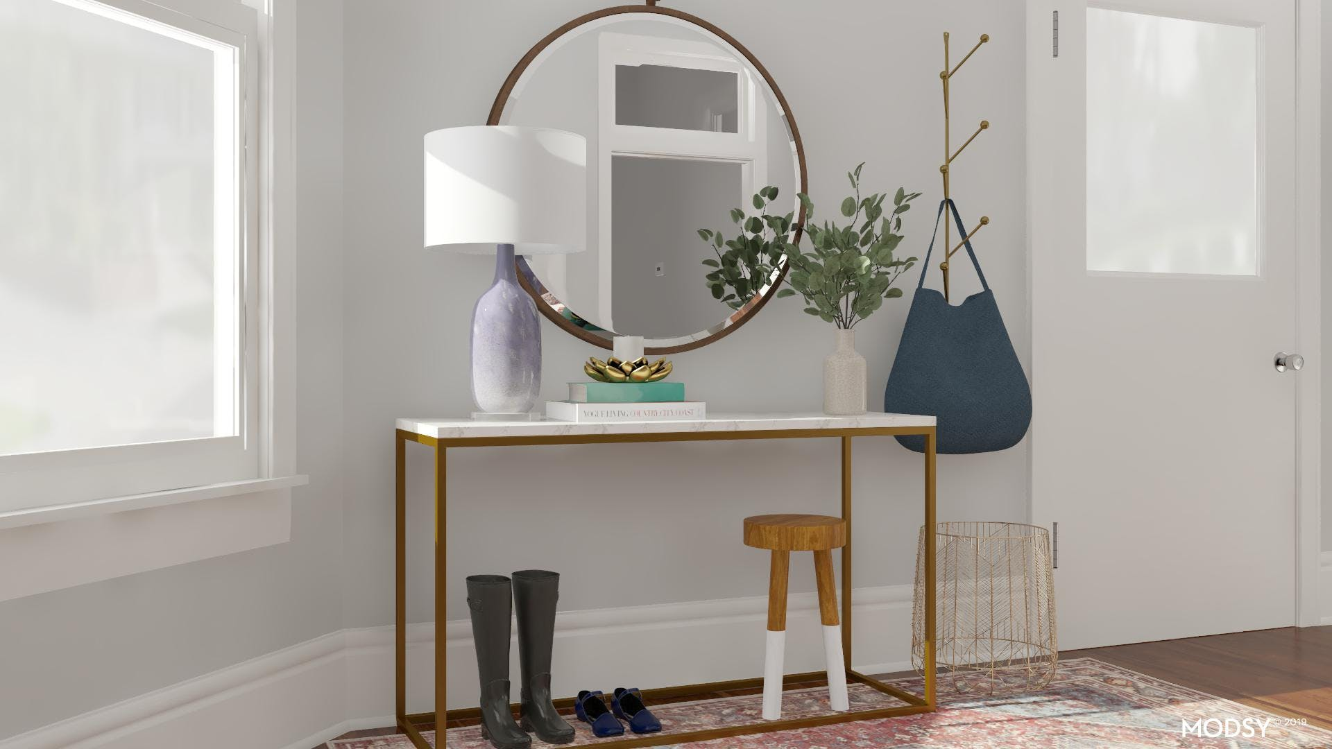 Stylish Storage Solutions for a Modern Entryway
