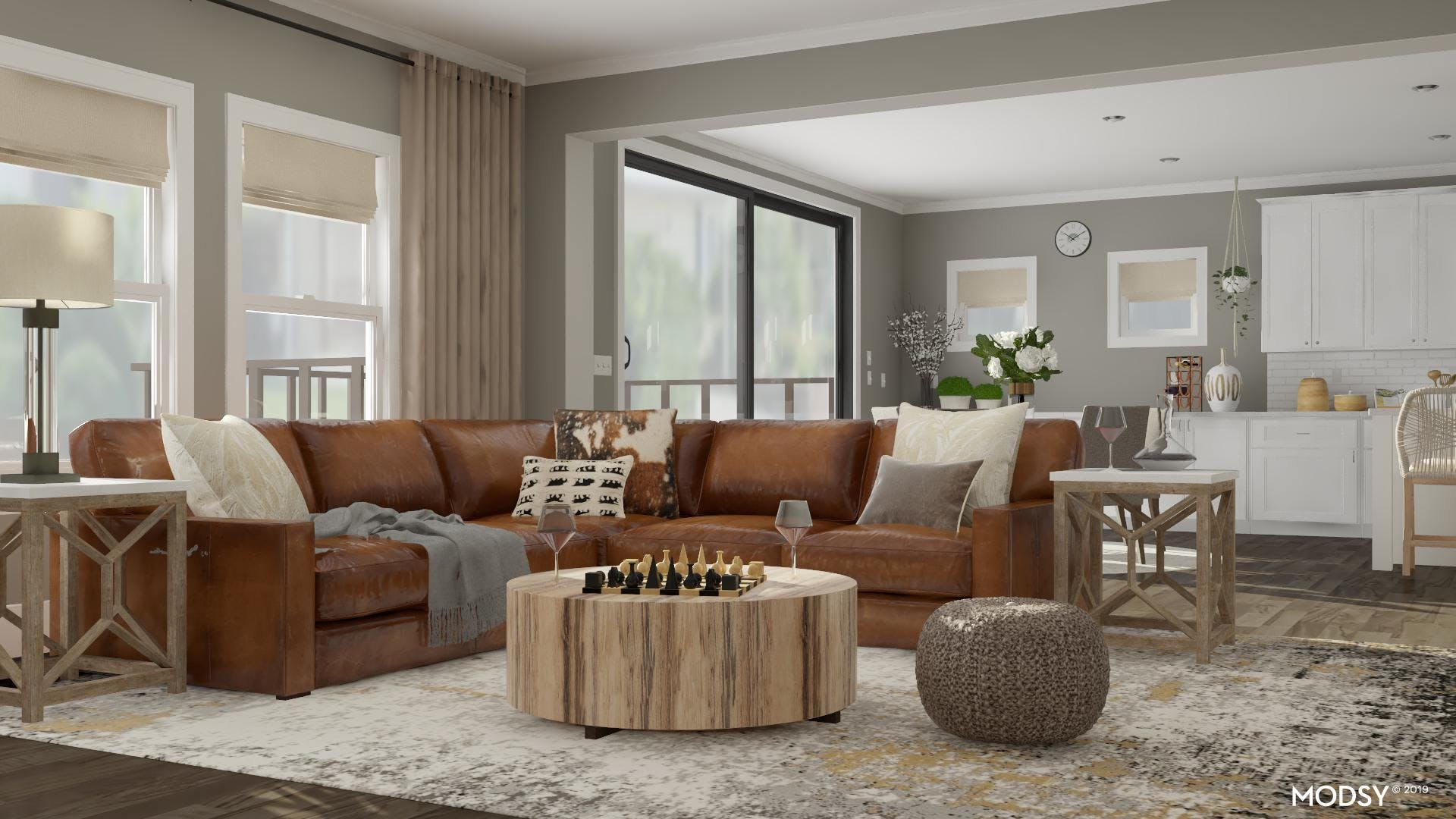Layer On Texture: Rustic Living