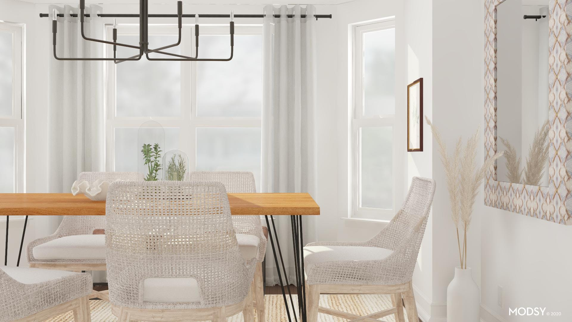 Soft And Eclectic: Neutral Dining